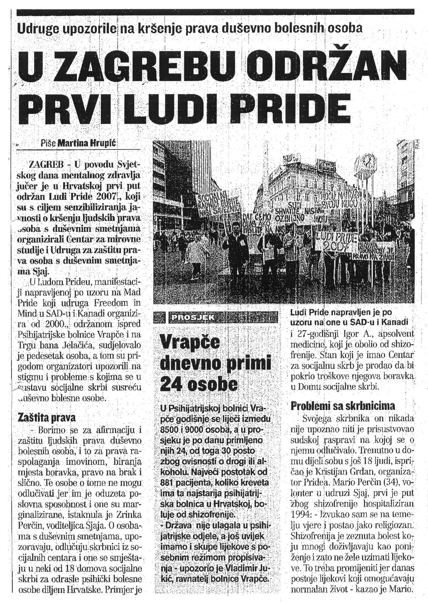 2007 LUDI PRIDE - NOVINE 2